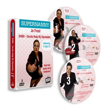 SUPERNANNY - Eerste Hulp Bij Opvoeden (3DVD)