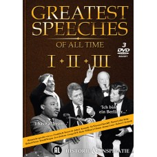 Greatest Speeches of All Time I + II + III (3DVD)