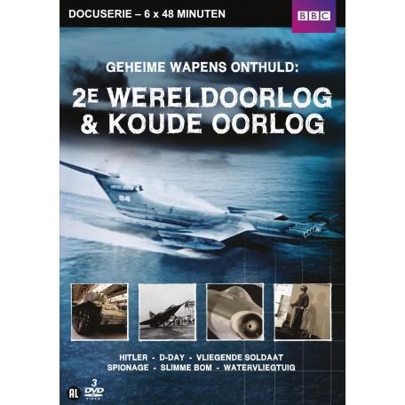 Geheime Wapens Onthuld: WO2 & Koude Oorlog (3DVD)