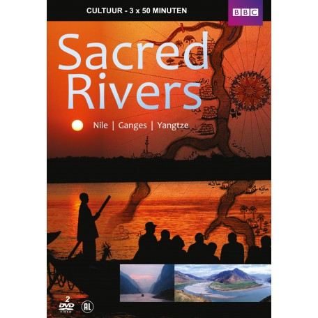 SACRED RIVERS NILE, GANGES, YANGTZE (2DVD)