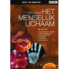 Reis door HET MENSELIJK LICHAAM BBC (8DVD collectie)