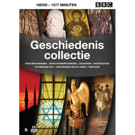 GESCHIEDENIS COLLECTIE BBC 16DVD