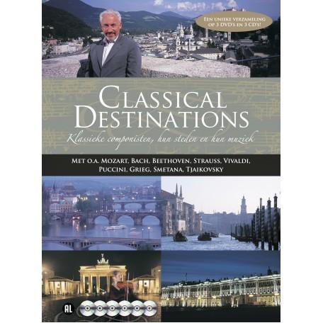 Classical Destinations. Muzikale rondreis door Europa (3DVD/3CD)