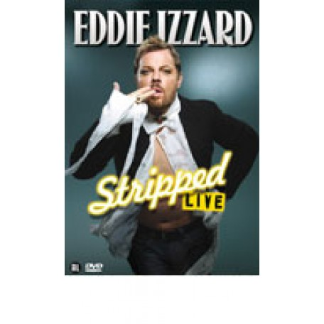 EDDIE IZZARD - Stripped Live (DVD)