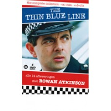 THE THIN BLUE LINE - ROWAN ATKINSON - COLLECTION 4DVD