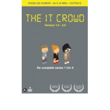 THE IT CROWD S1, S2, S3, S4 (4DVD)