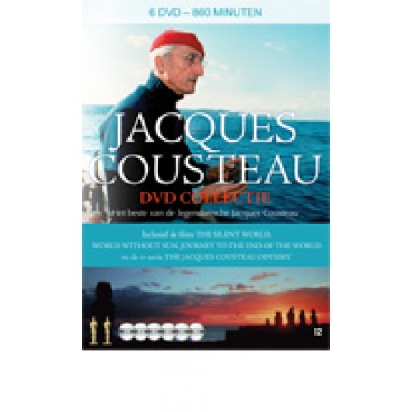 Jacques Cousteau DVD Collectie (6DVD)