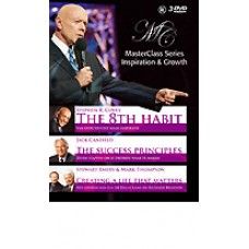 MASTERCLASS: Stephen Covey 8th Habit, Canfield & others (3DVD)